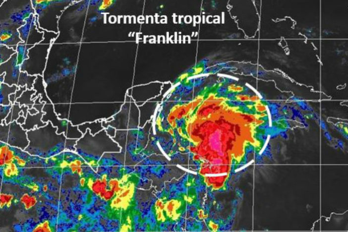 tormenta franklin